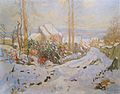 Robert Antoine Pinchon, Neige, oil on canvas, 73 x 92 cm.jpg