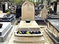 Robert Gall (parolier) — Tombe — Cimetière de Montmartre (Paris, France).JPG