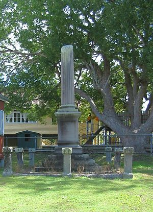 Robert Travers Atkin - Image: Robert Travers Atkin memorial main