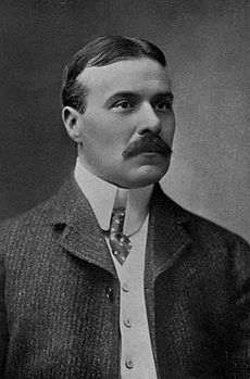 A publicity portrait of Chambers, circa 1903