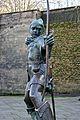 Robin Hood statue, Nottingham Castle.jpg