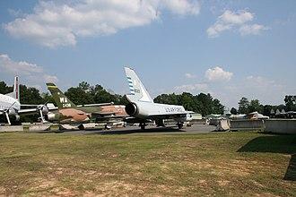 Museum of Aviation (Warner Robins) - Image: Robins AF Bbackyard