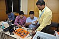 Robot Building Session - Workshop on Organising Indian and World Robot Olympiad - NCSM - Kolkata 2016-03-08 2367.JPG