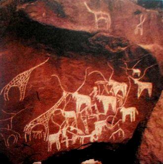 History of Djibouti - Rock art at Balho
