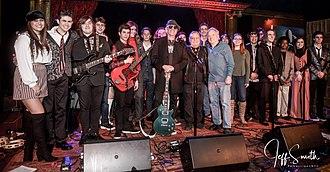 Eddie Brigati - Image: Rockit Academy Tribute to Steve Marriott 7560