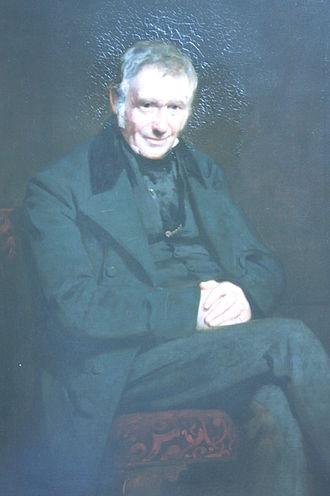 John Watson Gordon - Roderick Gray, Factor to the Merchant Maiden Hospital, by John Watson Gordon, 1852