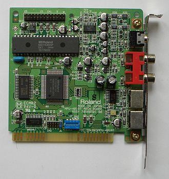 MPU-401 - Roland MPU-401AT