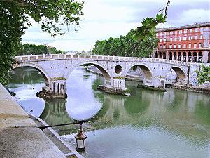 Ponte Sisto today – Rome, Italy