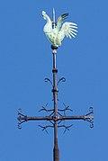Rooster at the top of Notre Dame de Paris' spire.jpg