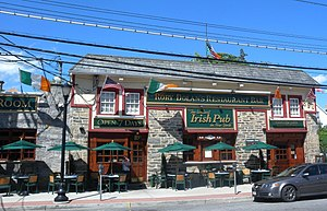 Irish Americans in New York City - Rory Dolan's Irish pub in  Yonkers