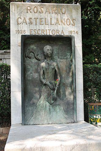 Rosario Castellanos - Tombstone of Rosario Castellanos