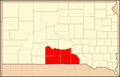 Rosebud Indian Reservation Location.png