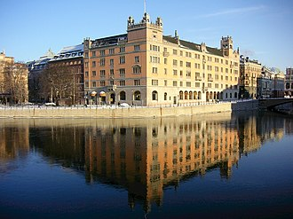 Government of Sweden - Rosenbad, in central Stockholm, has been the seat of the Government since 1981.