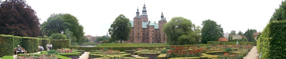 Rosenborgs slot fra Kongens Have.