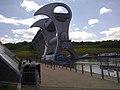 Rotating wheel lock at Falkirk Scotland.jpg