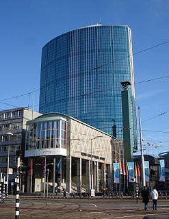 Beurs-World Trade Center Rijksmonument in Rotterdam, the Netherlands