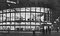 Rotunda PKO w Warszawie o zmroku 1968.jpg