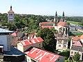 Roudnice, zvonice a kostel, z hlásky.jpg