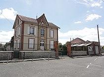 Rouilly (Seine-et-Marne) La mairie à La Bretonnière.jpg