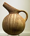 Rounded jug, Agios Onouphrios ware, 2600-1900 BC, from Agios Onouphrios ware, AMH, 144576 (cropped).jpg