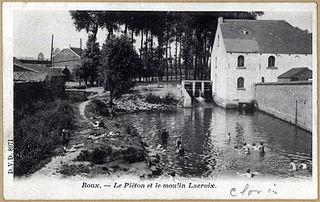 Piéton river in Belgium