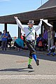 Royal Liberty Morris dancer at Broadstairs Folk Week 2017, Kent, England 4.jpg