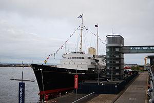Ocean Terminal, Edinburgh - Royal Yacht Britannia