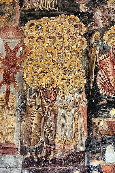 Ficheiro:Rozhen Monastery - fresco.jpg