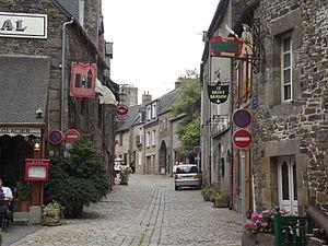 Dol-de-Bretagne - Image: Rue Ceinte Dol de Bretagne