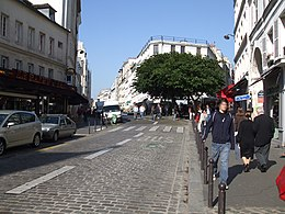 image illustrative de l'article Rue des Abbesses (Paris)