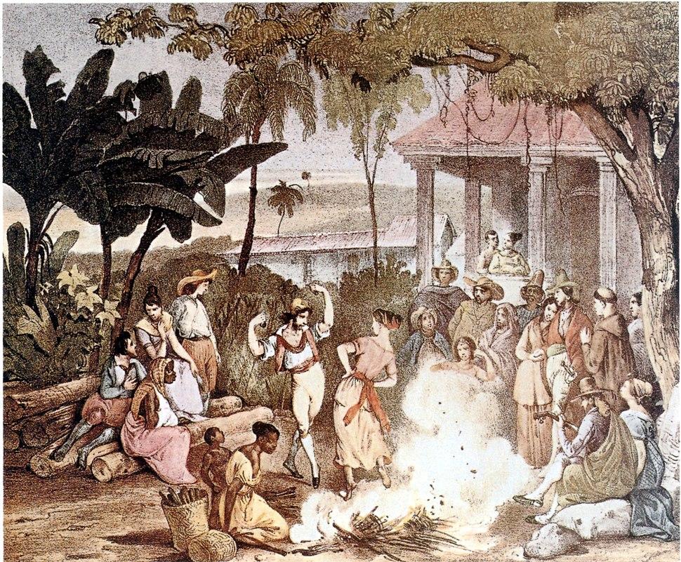 Rugendas lundu 1835
