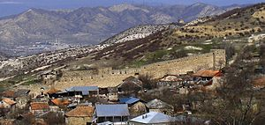 Tsitsishvili - Ruins of Tsitsishvilis Castle in Kveda Nichbisi