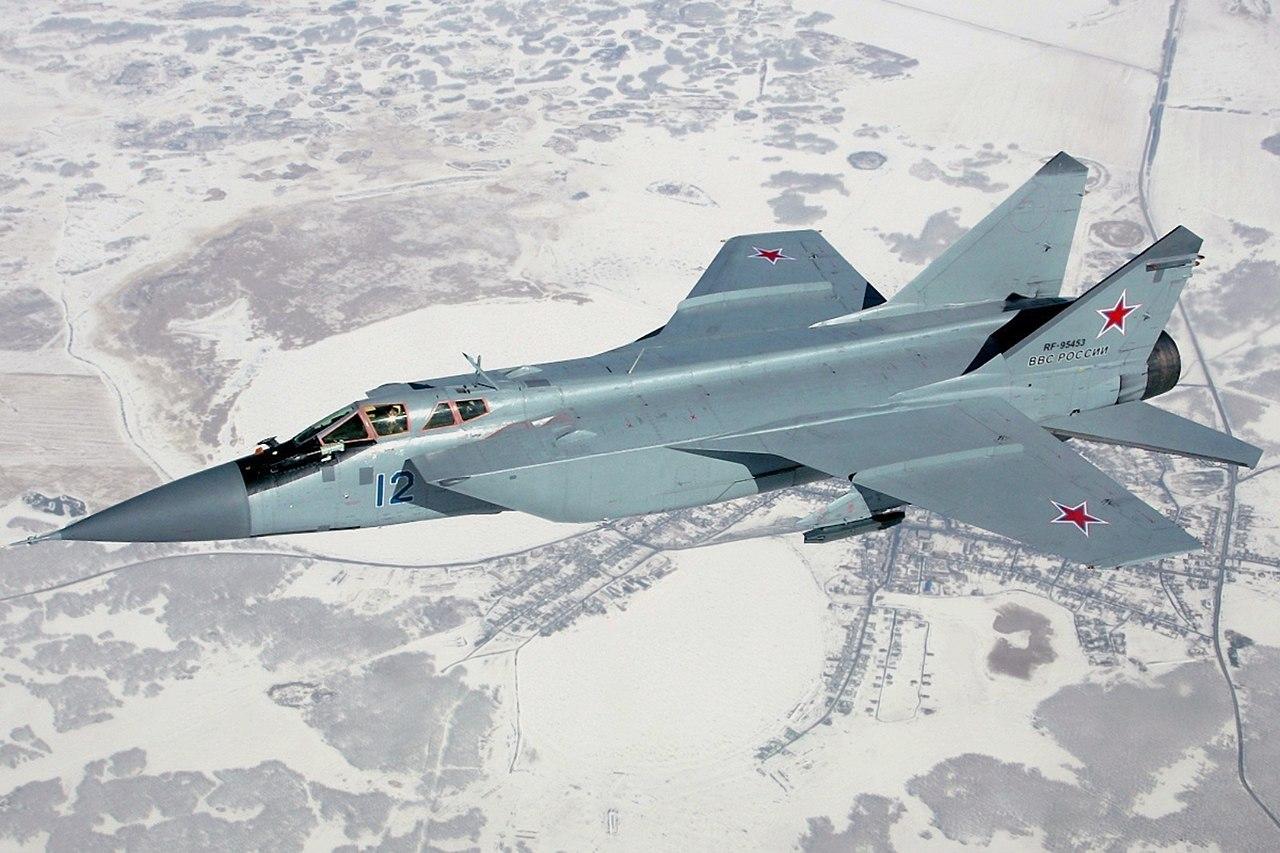 Russian Air Force Mikoyan-Gurevich MiG-31P.jpg