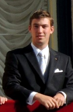 Prince Sébastien of Luxembourg - Sébastien at his brother's wedding in 2012
