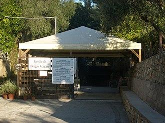 Borgio Verezzi Caves - Cave's entrance