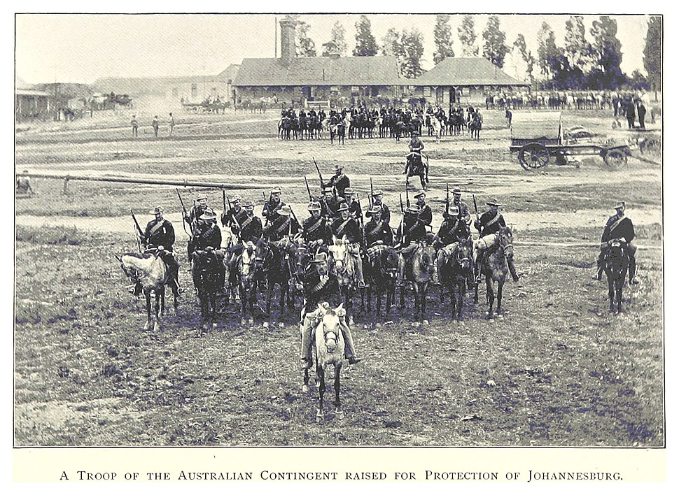 SA1899 pg194 A troop of Australian Contingent raised for Protection of Johannesburg