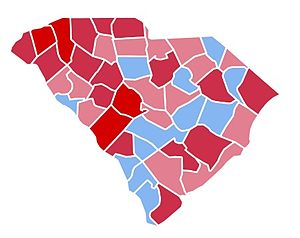United States presidential election in South Carolina, 1988 - Image: SC1988