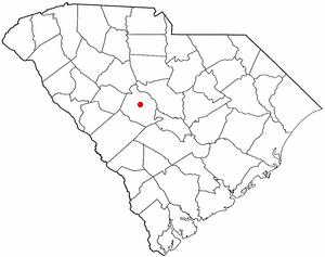 Red Bank, South Carolina - Image: SC Map doton Red Bank