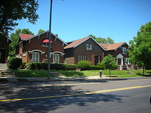 Holly Hills, St. Louis - Homes in Holly Hills in South St. Louis.