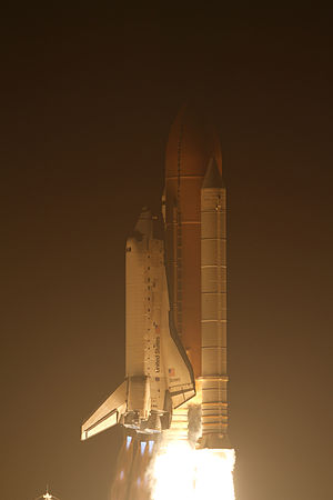 STS-131 - Space Shuttle Discovery launches from Kennedy Space Center, 5 April 2010