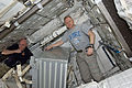 STS-133 ISS-26 Scott Kelly and Eric Boe.jpg