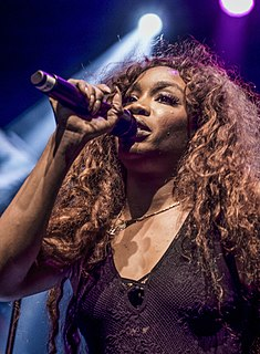 SZA (singer) American singer and songwriter from New Jersey