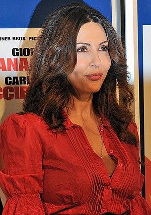 English: Sabrina Ferilli Italiano: Sabrina Ferilli