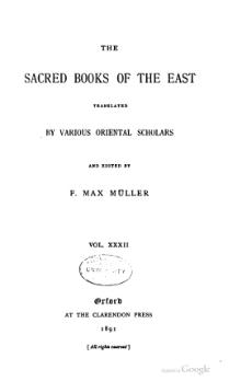 Sacred Books of the East - Volume 32.djvu