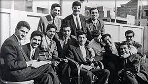 Saddam Hussein - Saddam Hussein and the Ba'ath Party student cell, Cairo, in the period 1959–1963