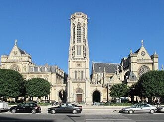 Théodore Ballu - Image: Saint Germain l'Auxerrois et mairie