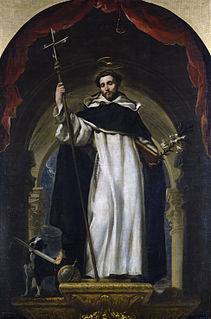 Saint Dominic Castilian priest and founder of the Dominican Order