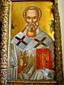 Saint Nicholas icon, Holy Trinity Church, Halki seminary.JPG