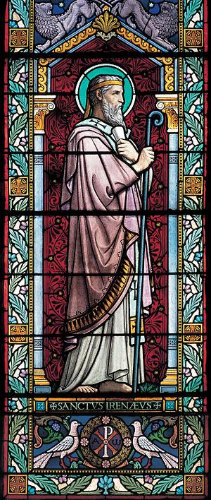 Irenaeus - Irenaus, in Church of St Irenaeus, Lyon.