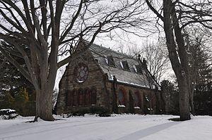 Greenlawn Cemetery (Salem, Massachusetts) - The cemetery chapel